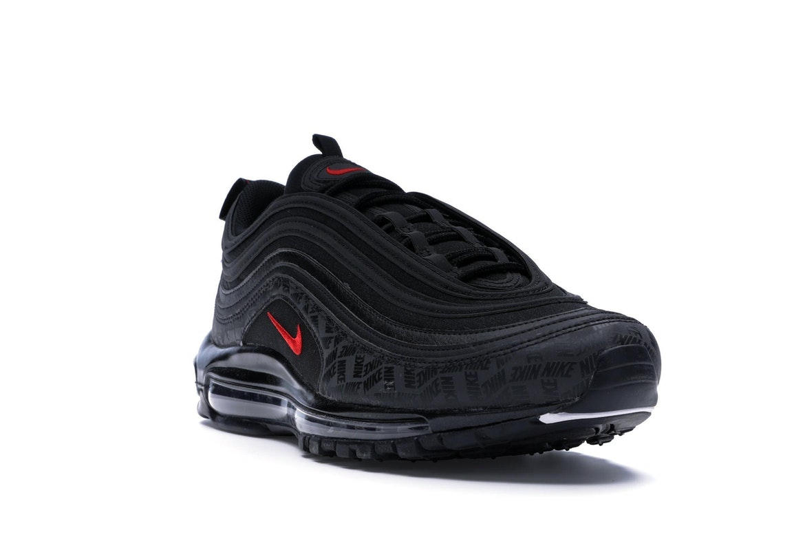 Air Max 97 All Over Print Black Red