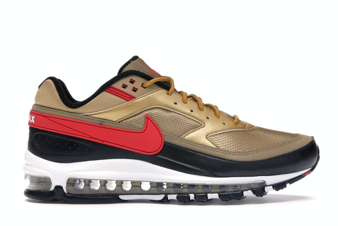 brand new b6ef8 e4523 Sell. or Ask. Size  12. View All Bids. Air Max 97 BW Metallic Gold  University Red Black