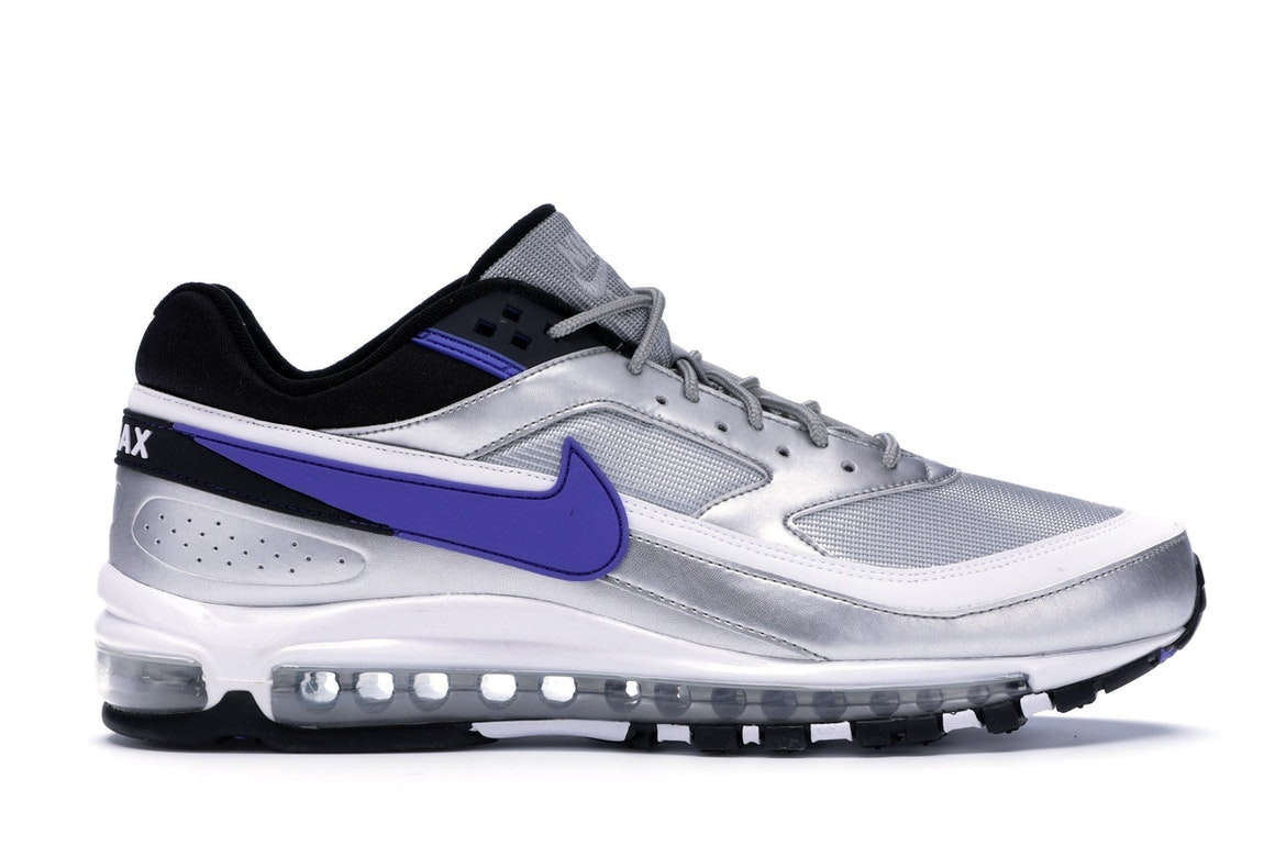 Air Max 97/BW Metallic Silver Persian Violet