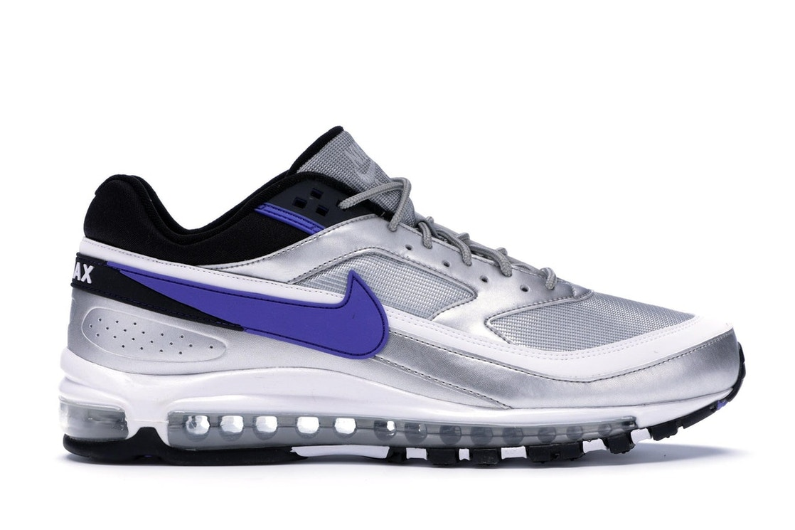 outlet store bad9a 29b77 Air Max 97/BW Metallic Silver Persian Violet