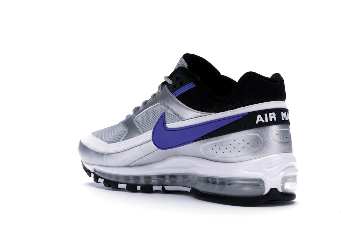 buy online 6ce81 9d2ed Air Max 97 BW Metallic Silver Persian Violet - AO2406-002