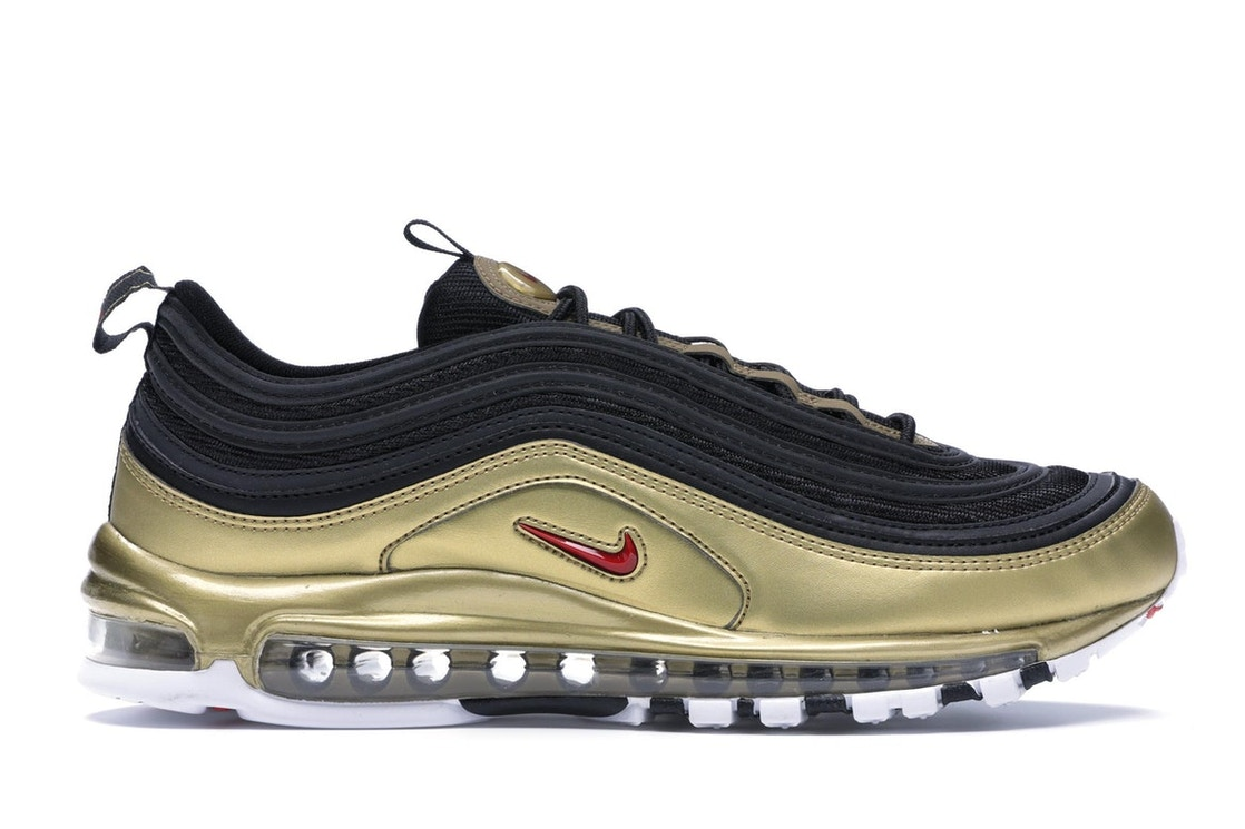 huge discount 7d2ca 5f389 Air Max 97 Black Metallic Gold