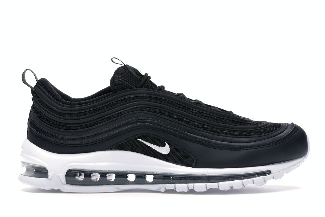 sale retailer a8272 642f2 Air Max 97 Black White