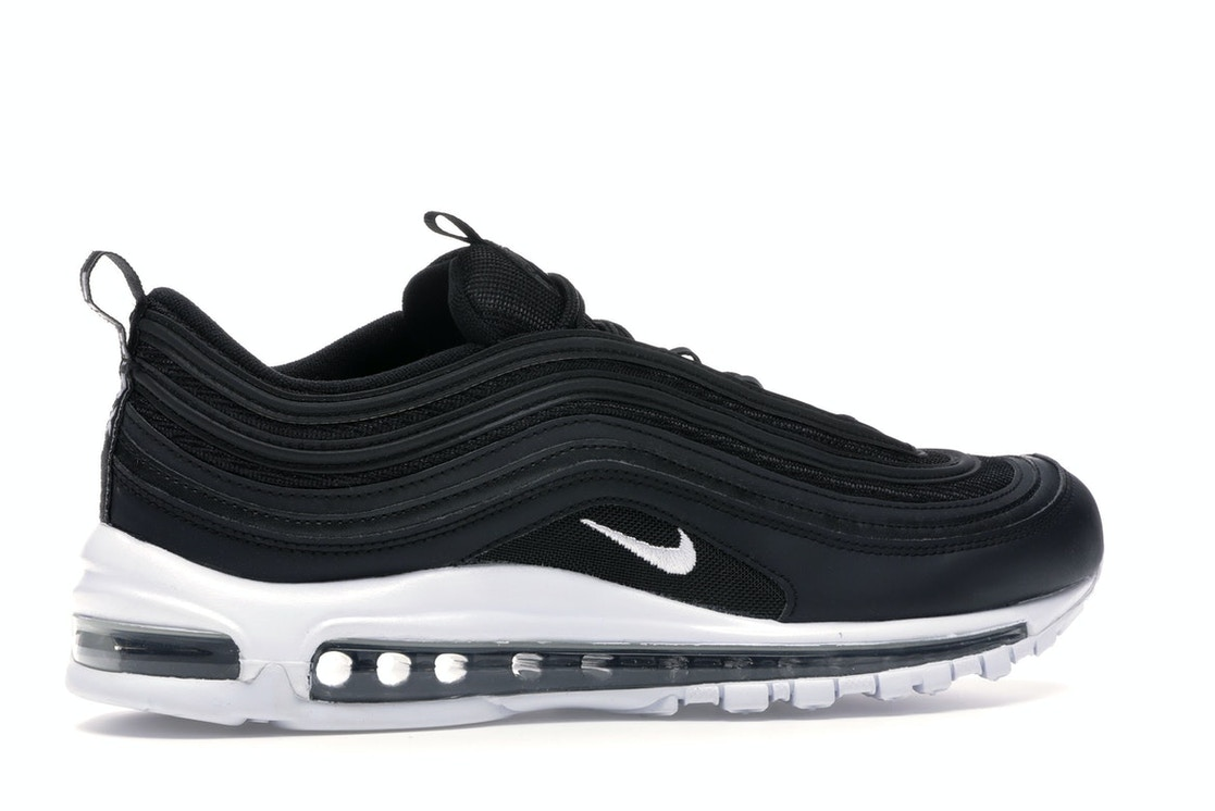 Nike Sportswear AIR MAX 97 17 Sneaker low black/white Zalando