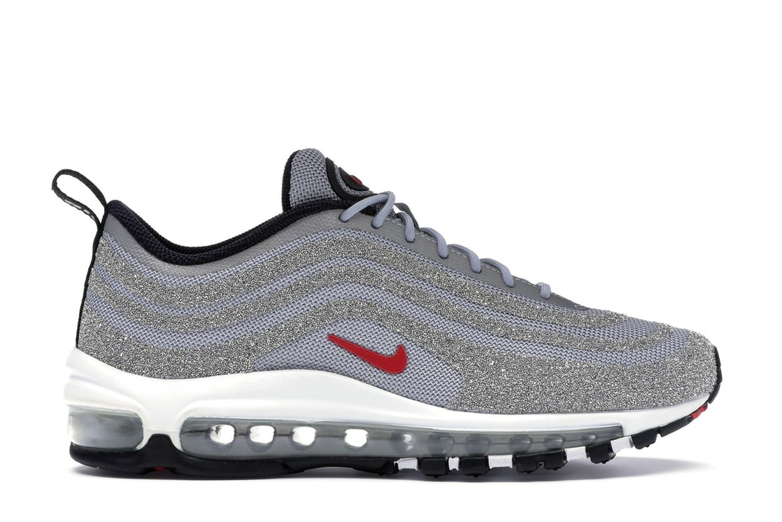 pre order wide range uk cheap sale Air Max 97 LX Swarovski Silver Bullet (W)