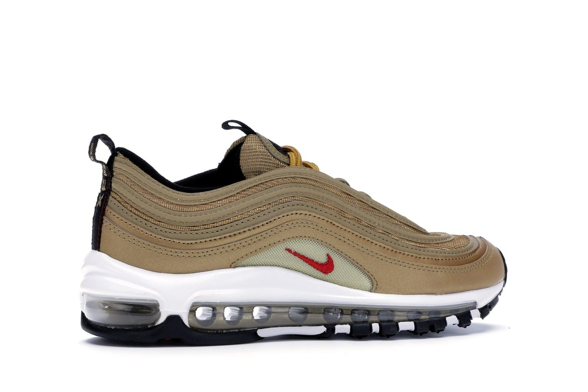 26fe992a8f7 Nike Air Max 97 Metallic Gold Jordans Ultra Fly Mens