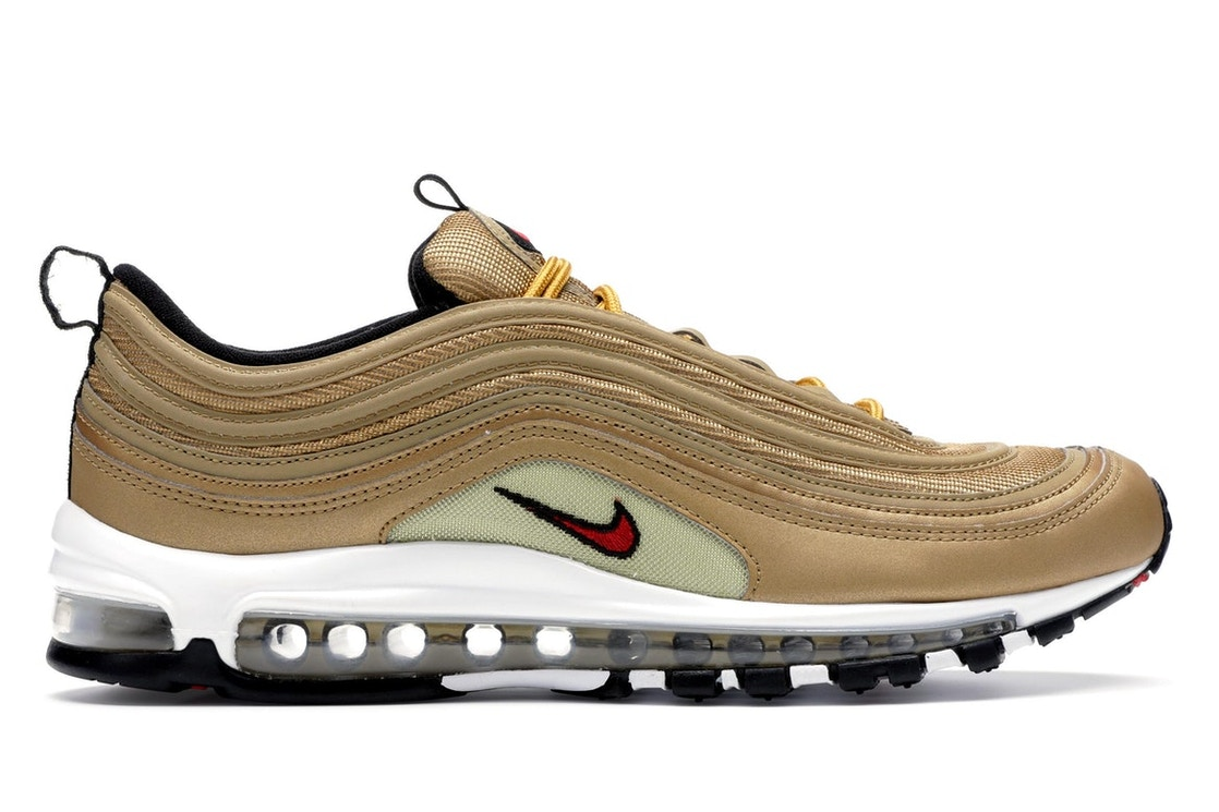 Superficie lunar Campo de minas Tropical  Nike Air Max 97 Metallic Gold - 884421-700