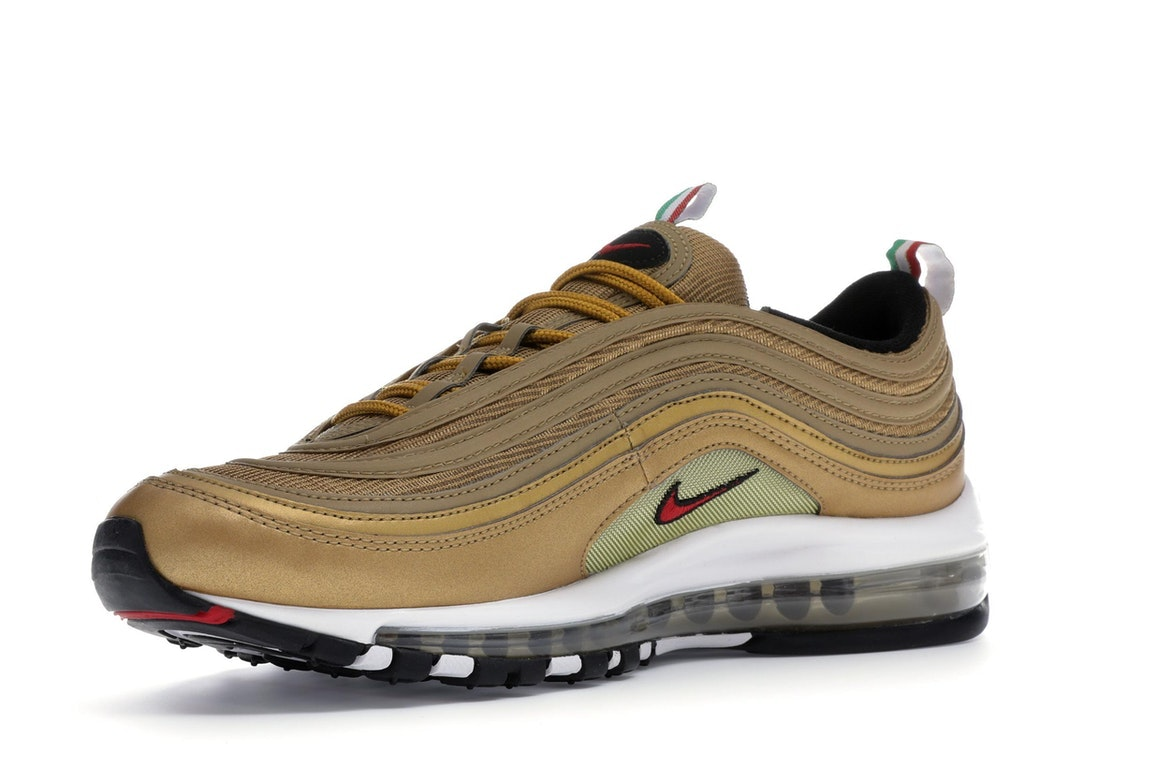 Nike Air Max 97 Gold Italy AJ8056 700 Release Info