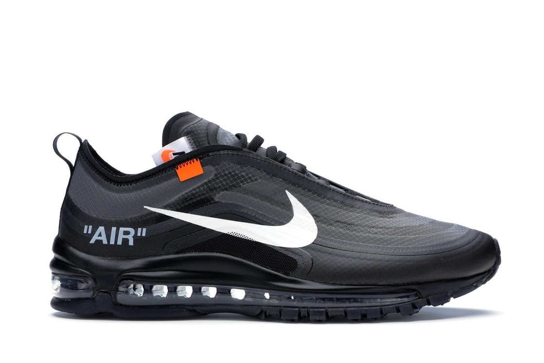 new concept daafd 34e16 Air Max 97 Off-White Black