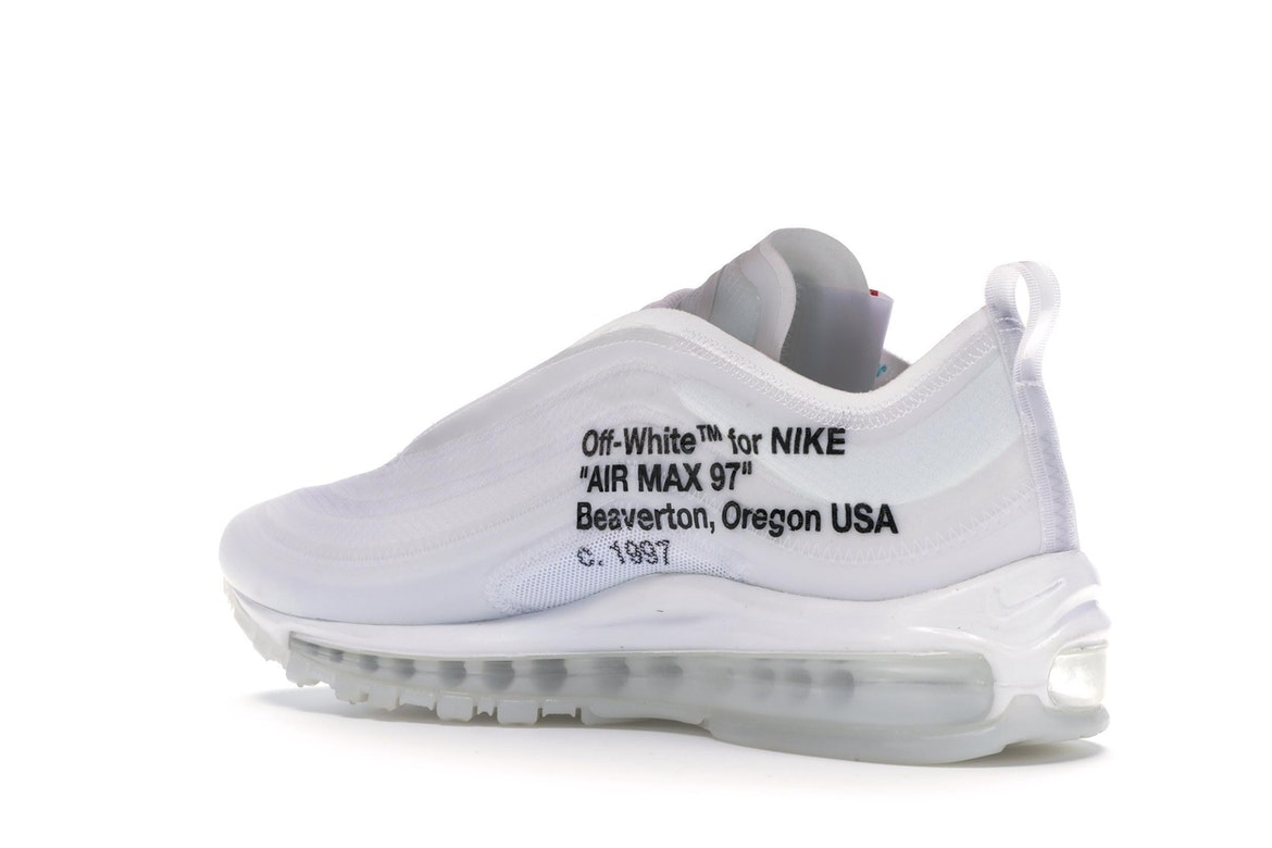 air max 97 bianche originali