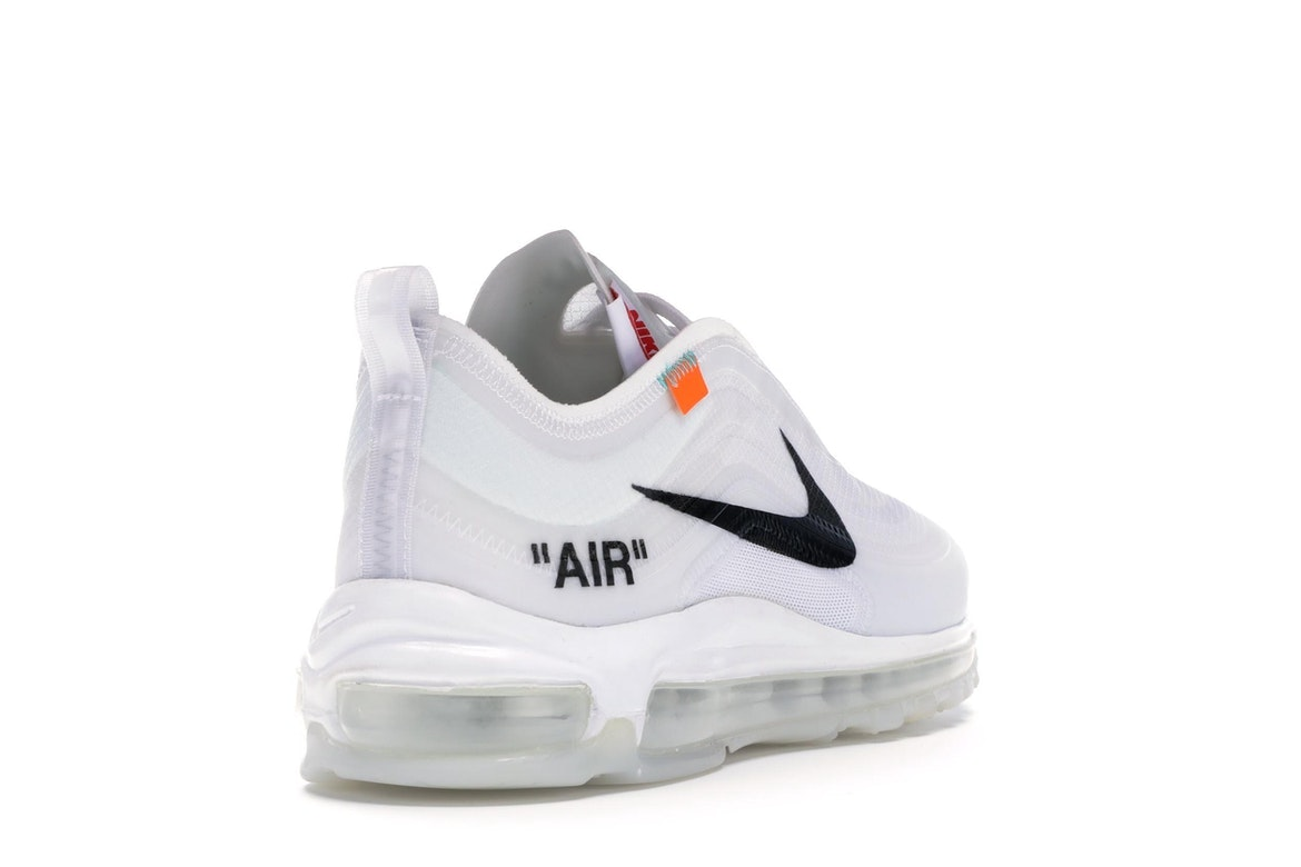 Limited OFF WHITE x Nike Air Max 90 Ice 10X sneakers men's