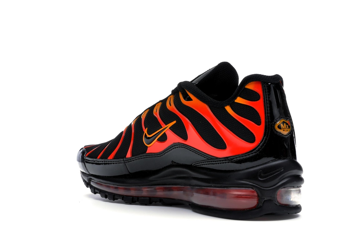 51cebe65fa1 Air Max 97 Plus Black Shock Orange - AH8144 - 002