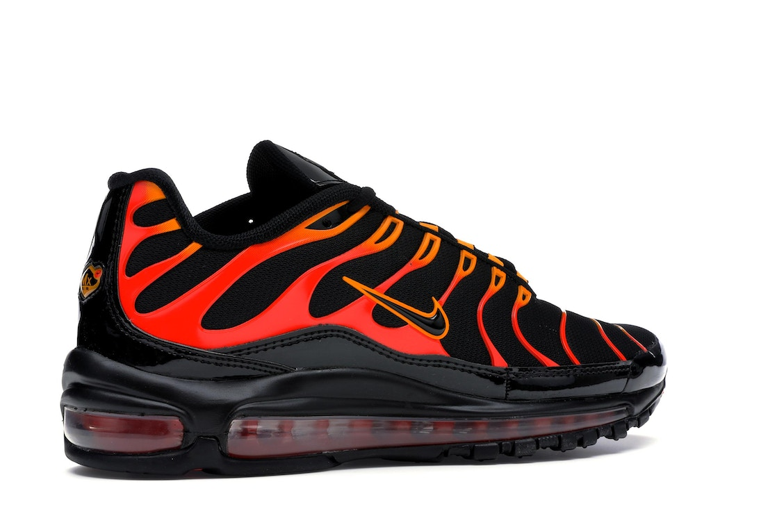 b453ea47 Air Max 97 Plus Black Shock Orange
