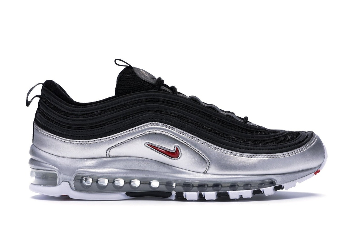 big sale 28d68 fac59 Air Max 97 Silver Black