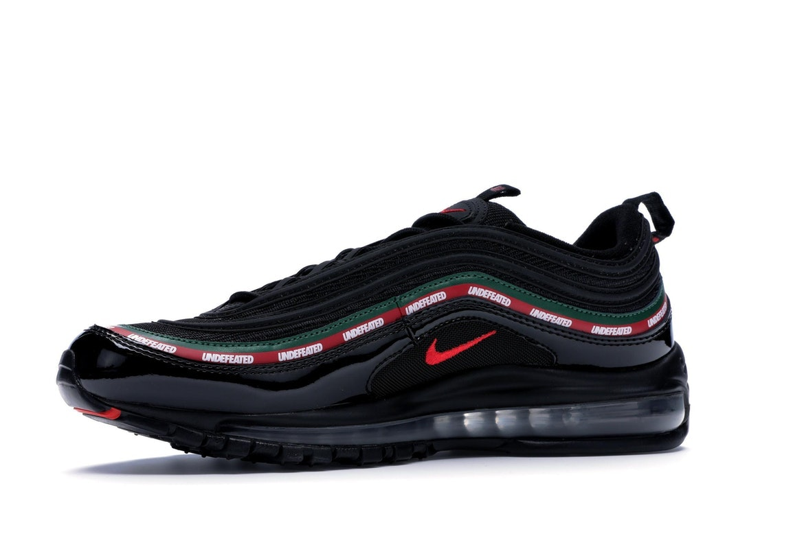 air max 97 undefeated blanche