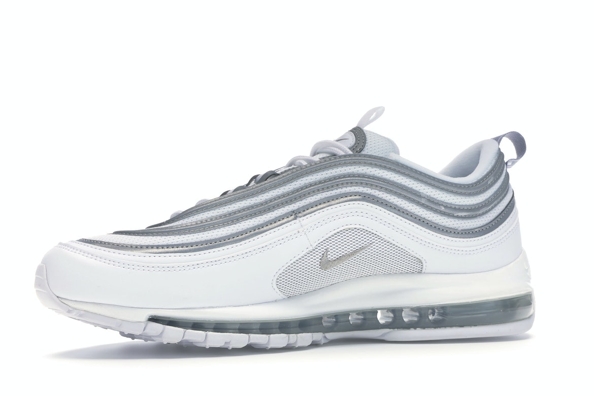Shoptagr | Air Max 97 White Reflect Silver by Stock X