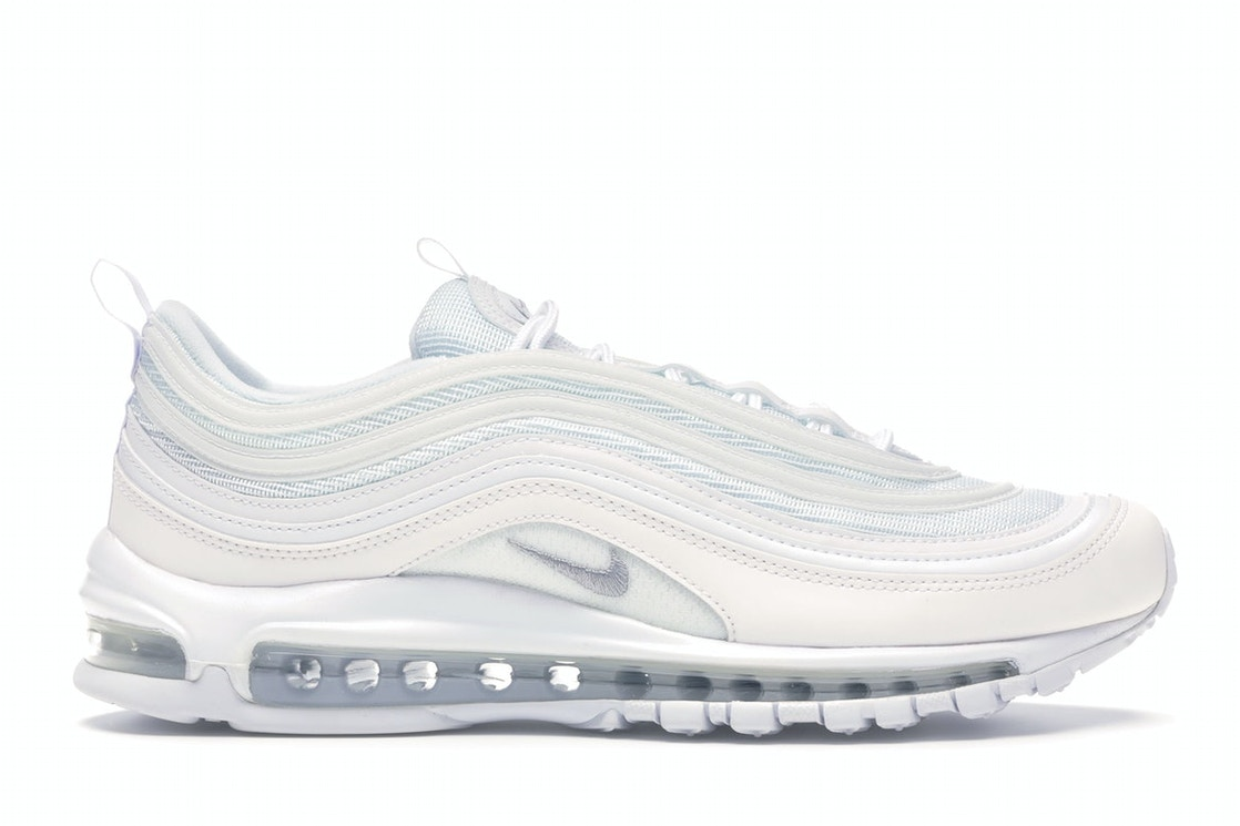 new style bed5e 41fd4 Air Max 97 Triple White Wolf Grey