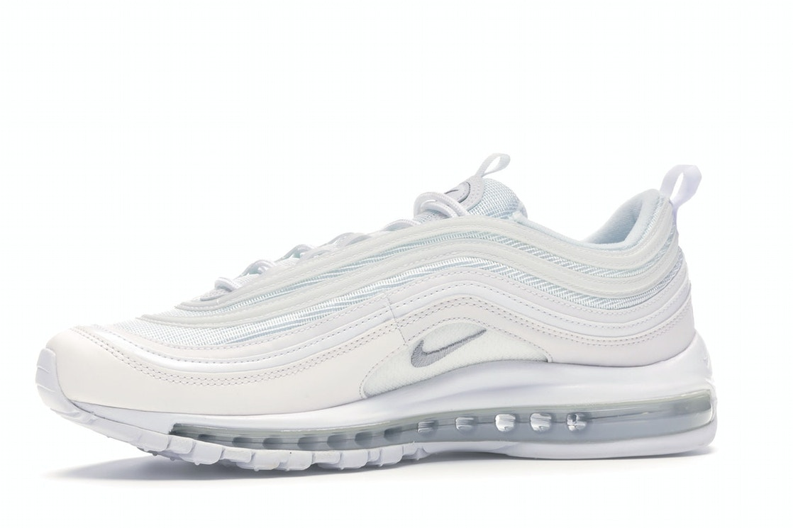 new style c4a94 27152 Air Max 97 Triple White Wolf Grey