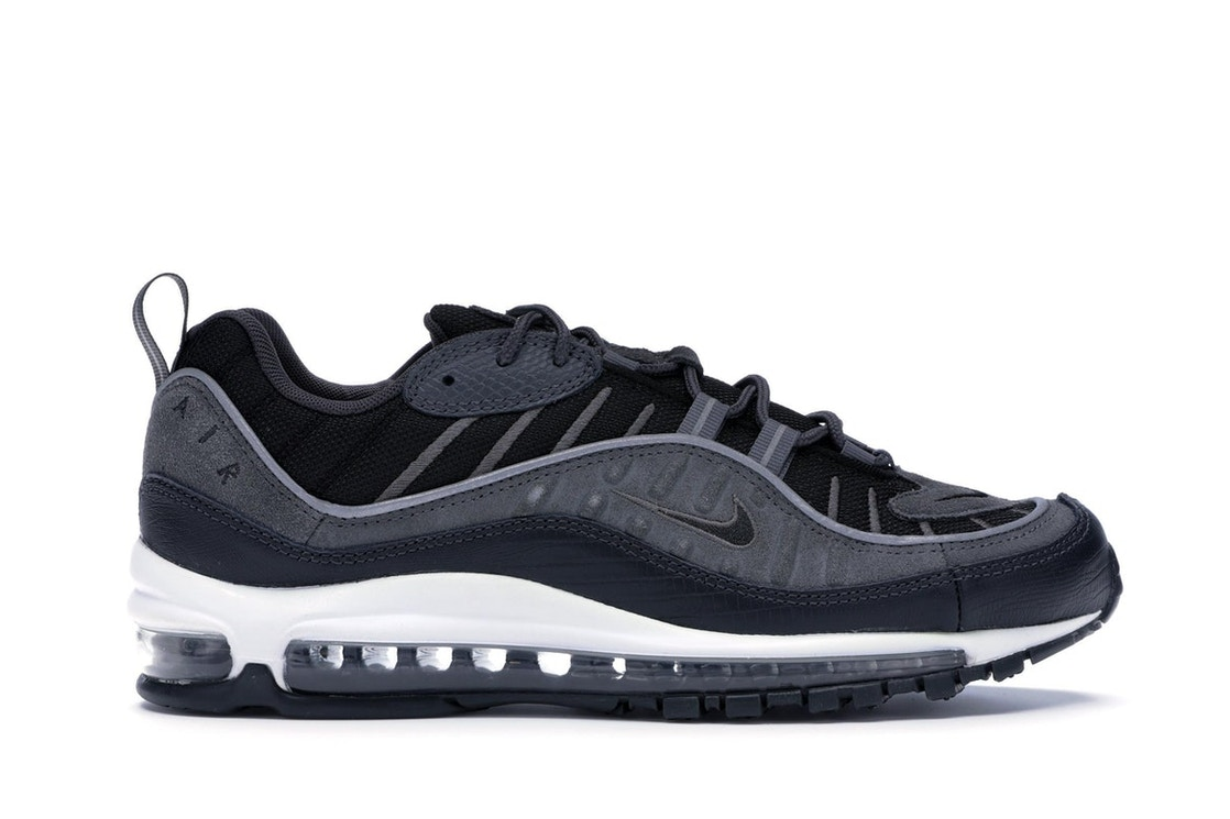 info for f6487 9fc01 Air Max 98 Black Anthracite