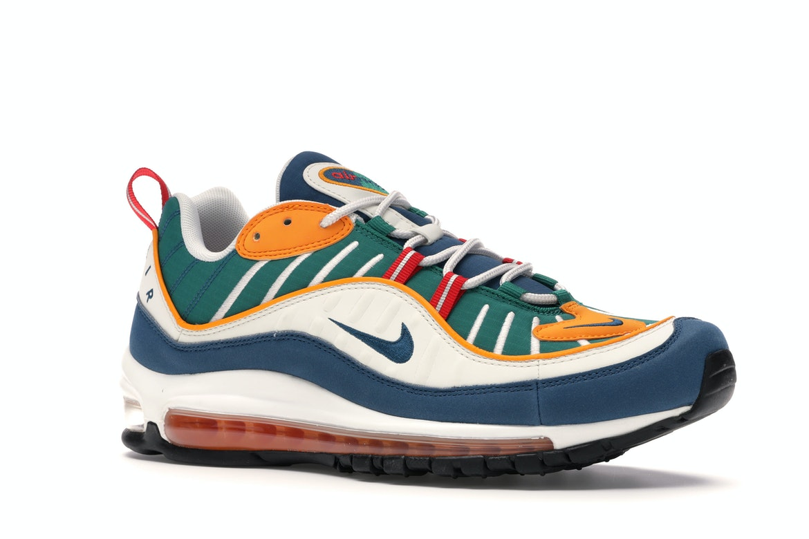air max 98 university red/blue force-orange peel