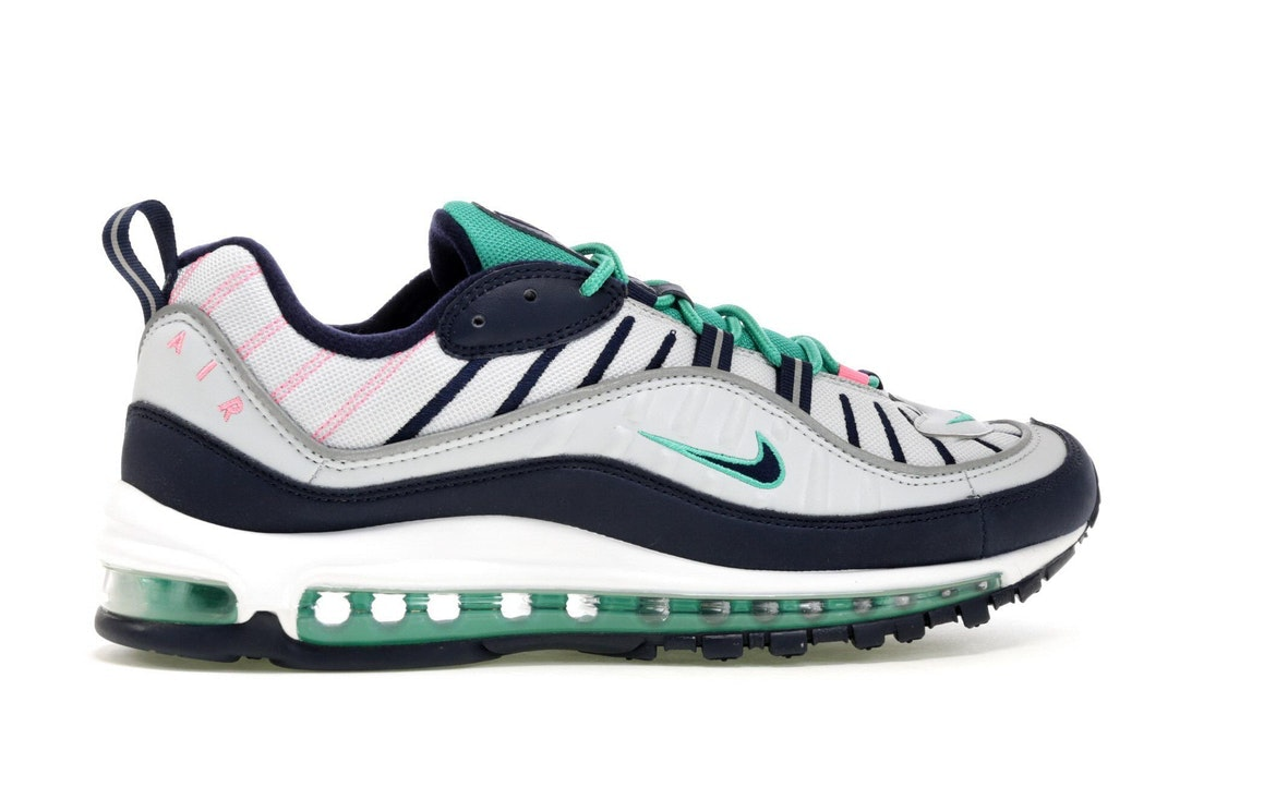 Size 10 MENS - SOLD OUT - Nike Air Max 98 South Beach Tidal Wave Miami