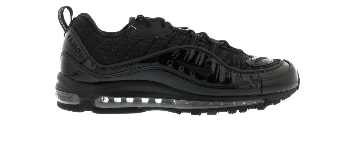 uk availability 88bcc fa641 Air Max 98 Supreme Black