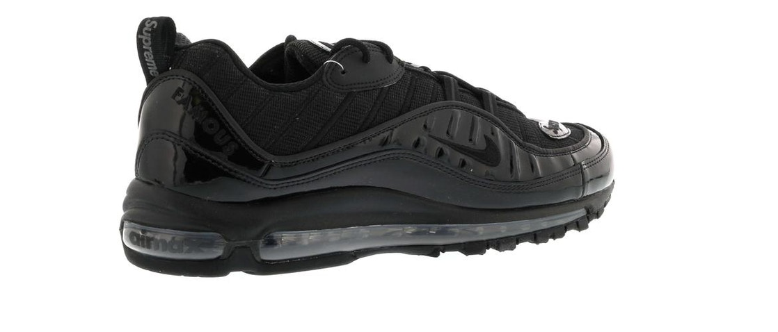 uk availability 17f49 b0902 Air Max 98 Supreme Black