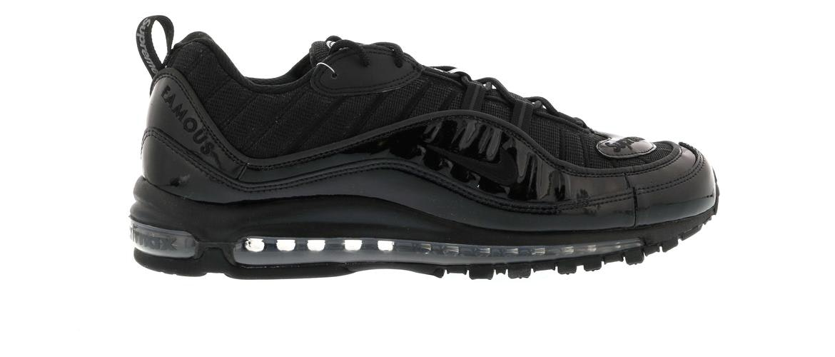nike air max 98 supreme black