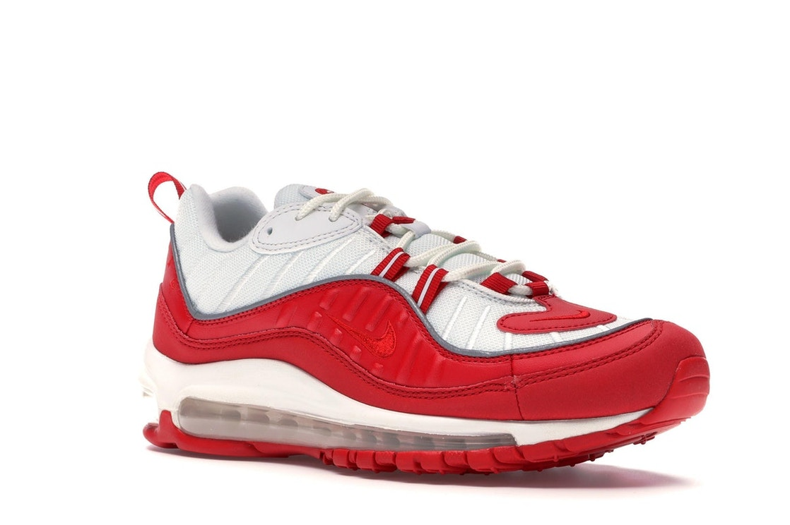 latitud Mathis grupo  Nike Air Max 98 University Red White - 640744-602