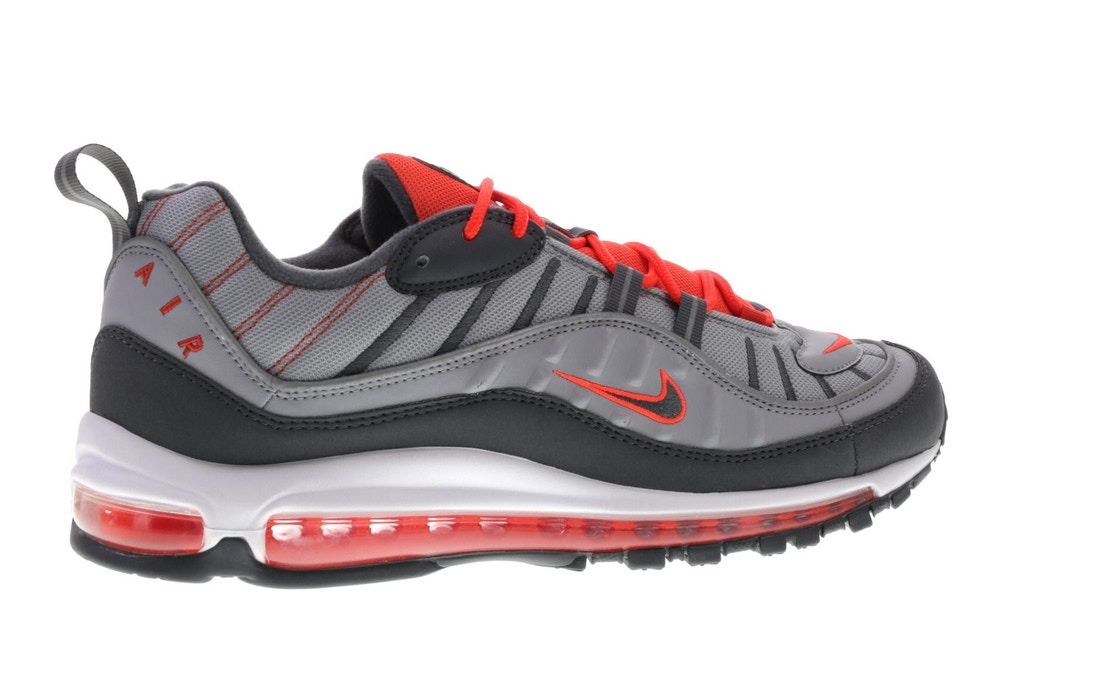 cb3f8c05d4 Air Max 98 Wolf Grey Total Crimson - 640744-006