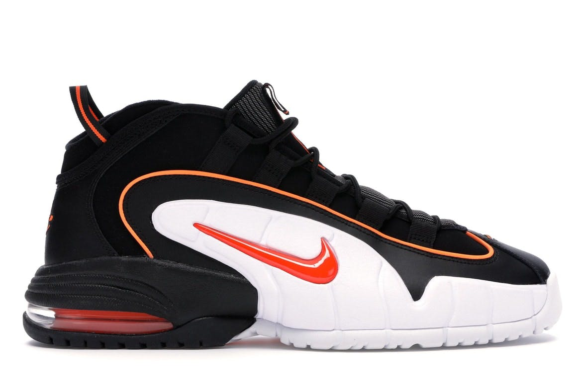 Air Max Penny Black Total Orange