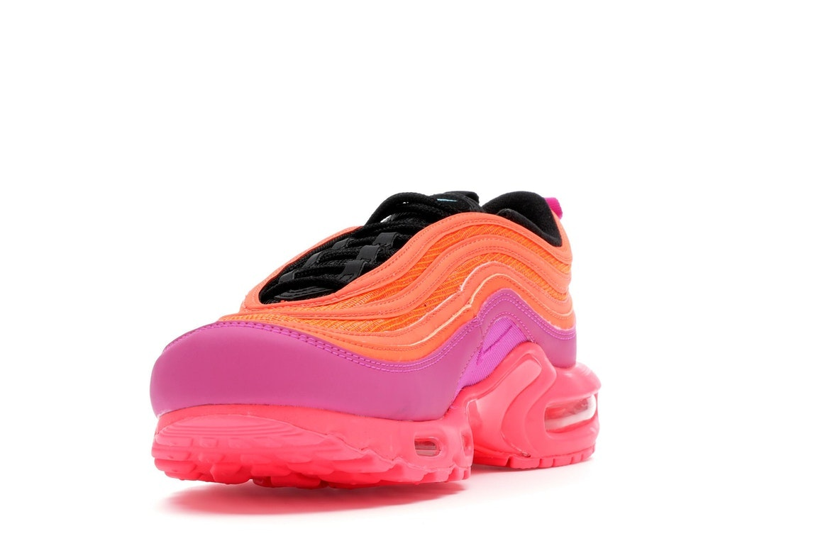 buy popular da1a5 7e257 97 PINK RACER HYPER MAGENTA ROSE ORANGE BLACK AH8143 600 Athletic Shoes  Clothing, Shoes & Accessories NIKE AIR MAX PLUS