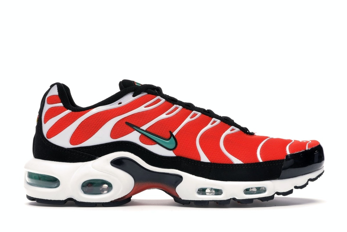 separation shoes a1617 fb305 Air Max Plus Team Orange Neptune Green