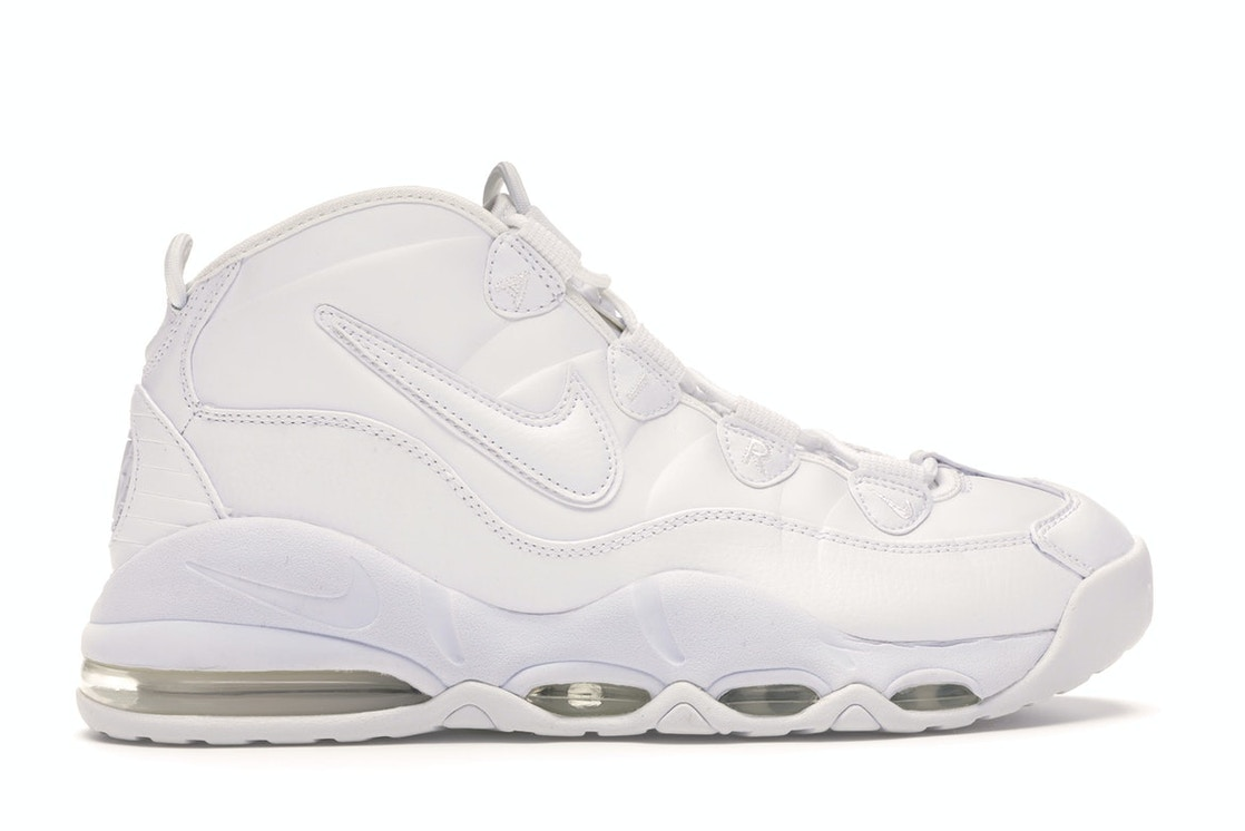 Nike Air Max Uptempo 95 Triple White