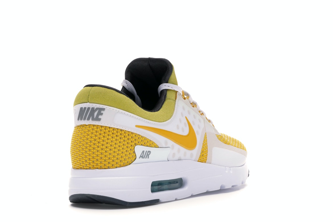 heiß Nike Air Max Zero White Yellow Tinker Hatfield