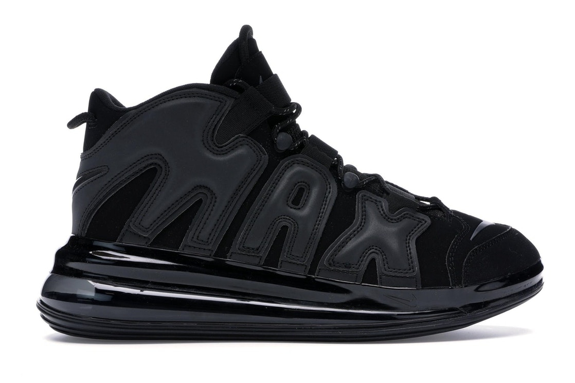 buy popular de1f3 2a659 Air More Uptempo 720 Black - BQ7668-001