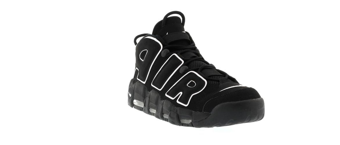 buy online b20f5 5009f Air More Uptempo Black White (2016) - 414962-002