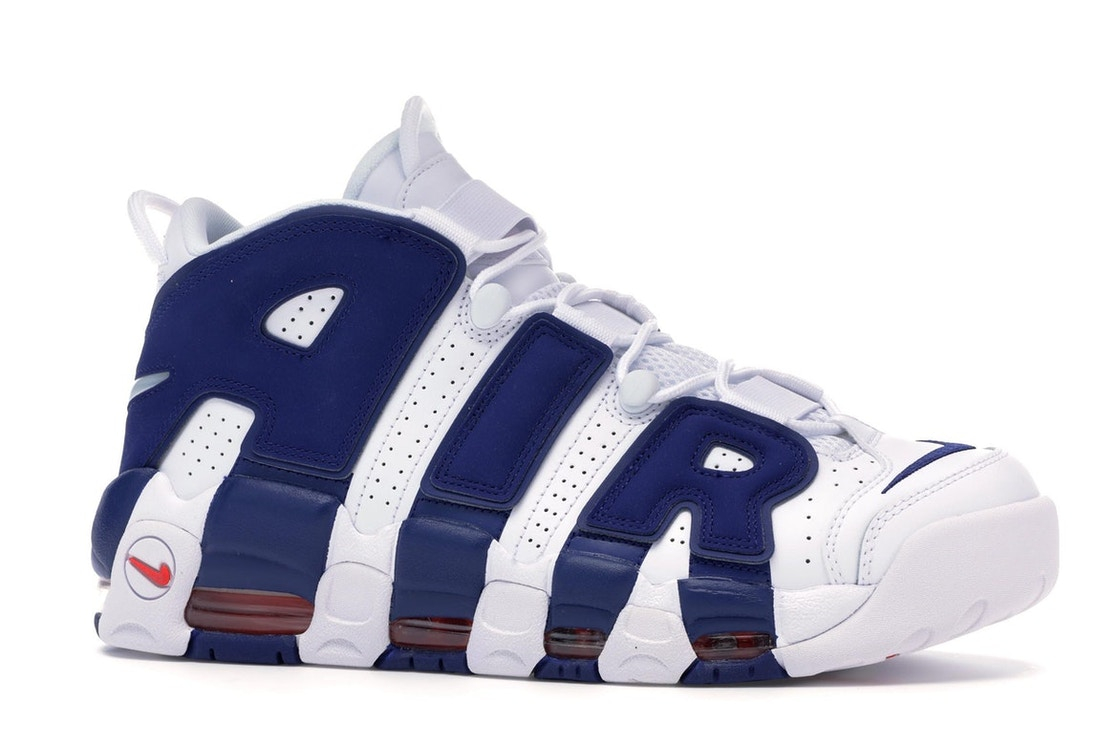 barajar Facturable Larry Belmont  Nike Air More Uptempo Knicks - 921948-101