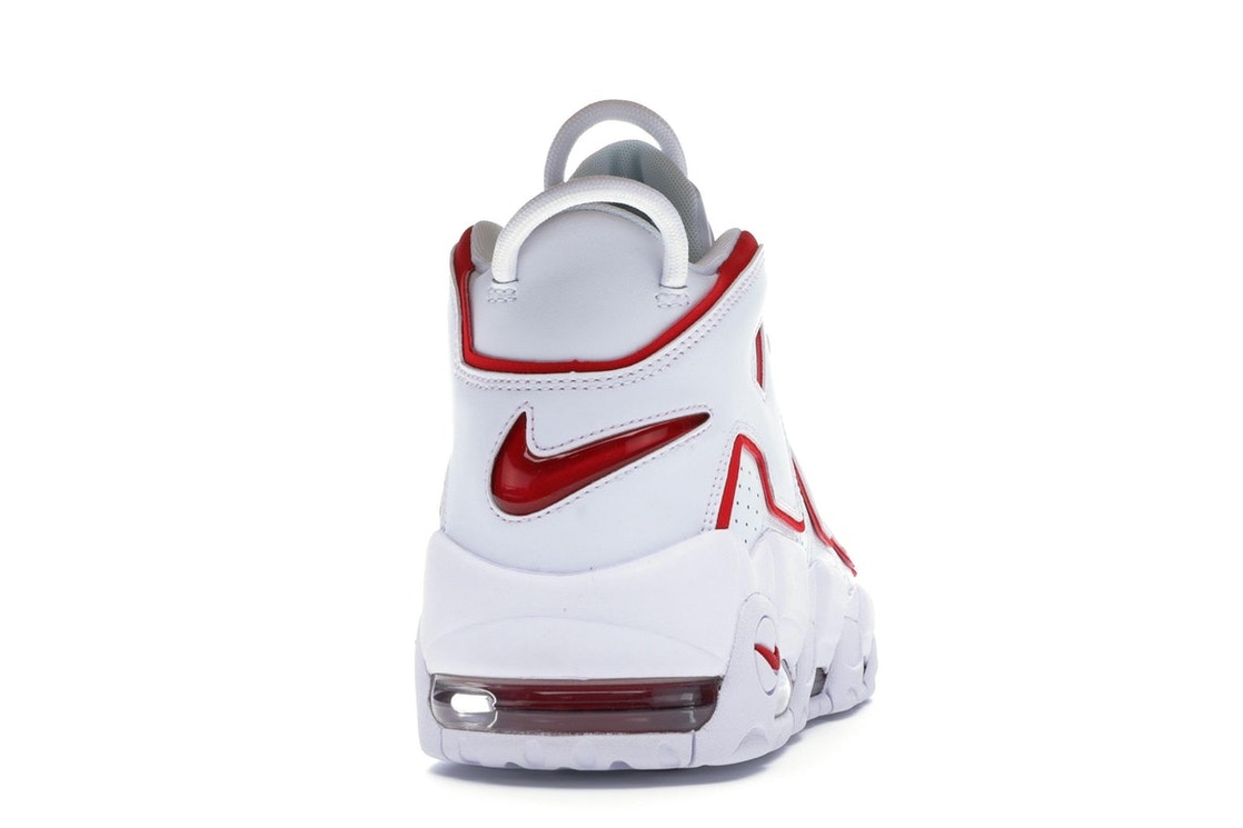watch 07c43 85eef Air More Uptempo White Varsity Red Outline - 921948-102