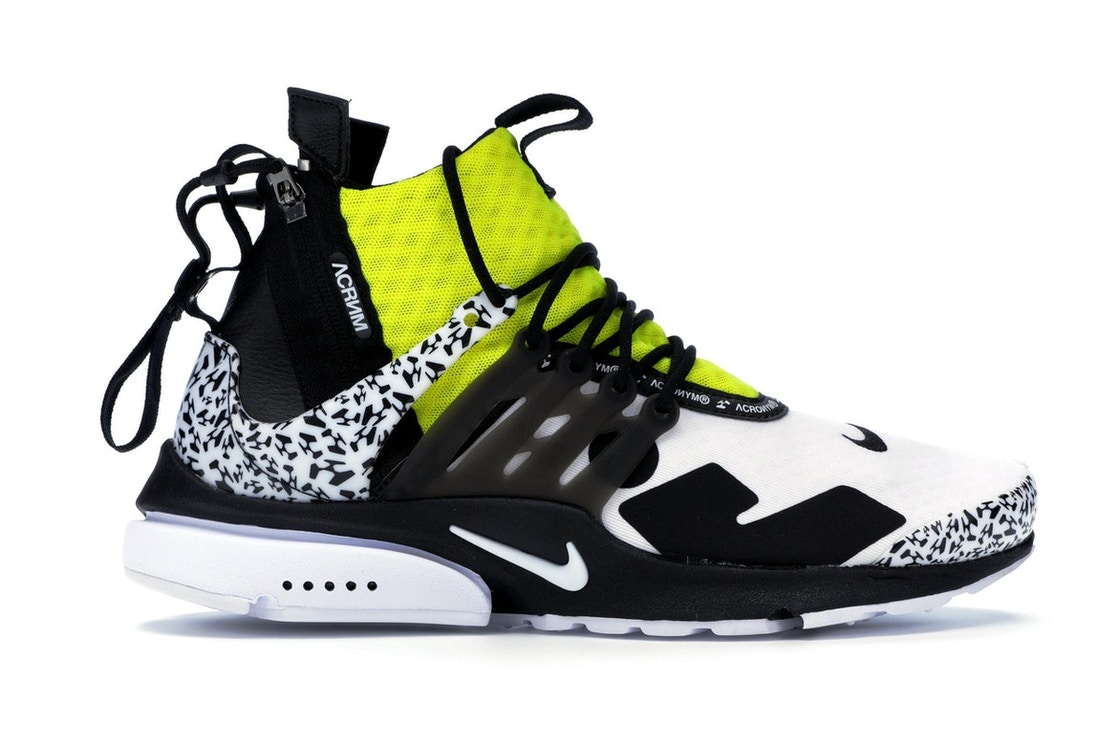timeless design 73192 aabee Air Presto Mid Acronym Dynamic Yellow