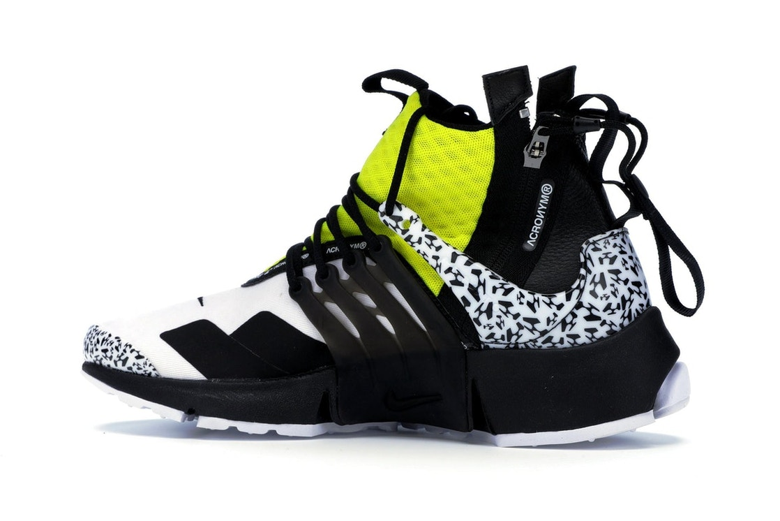 low priced e64ca 4cced Air Presto Mid Acronym Dynamic Yellow - AH7832-100