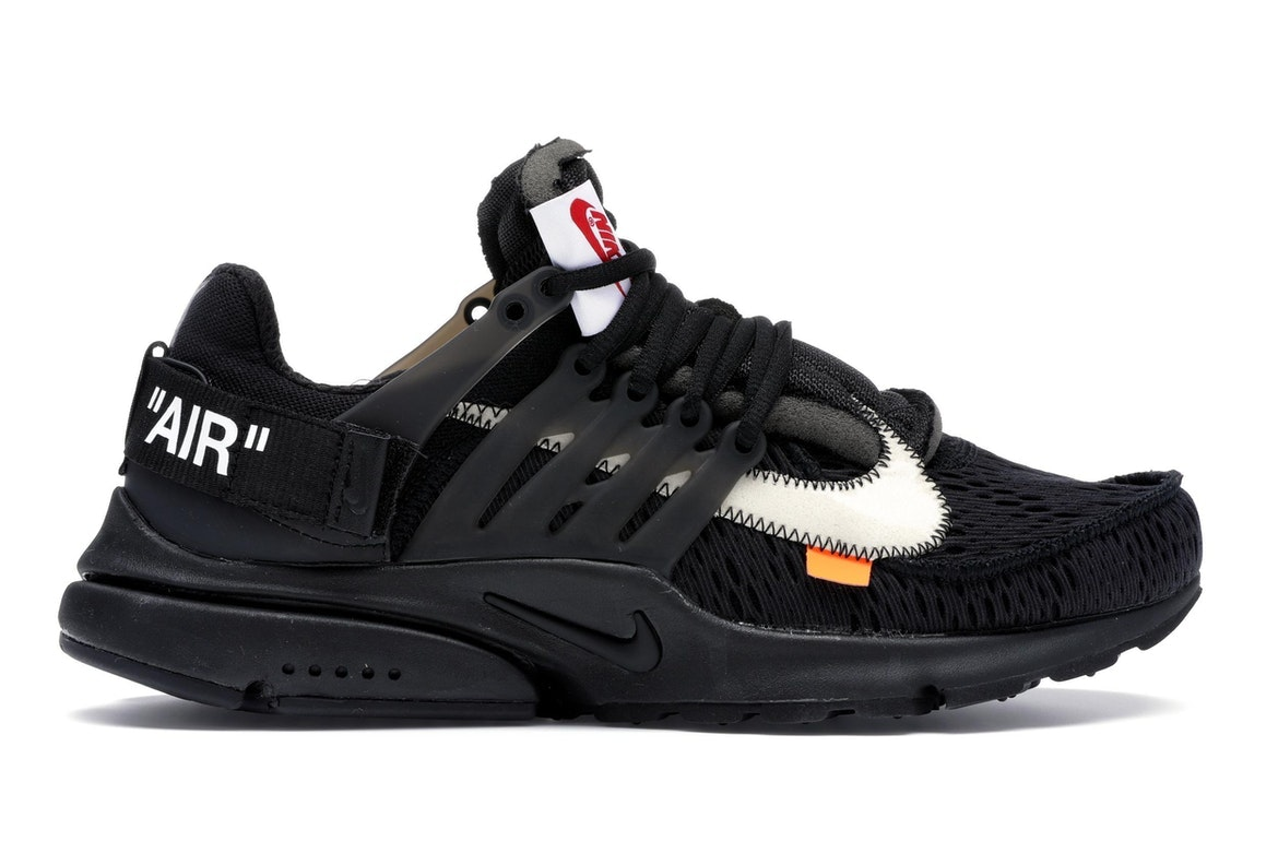 Air Presto Off-White Black (2018) - AA3830-002