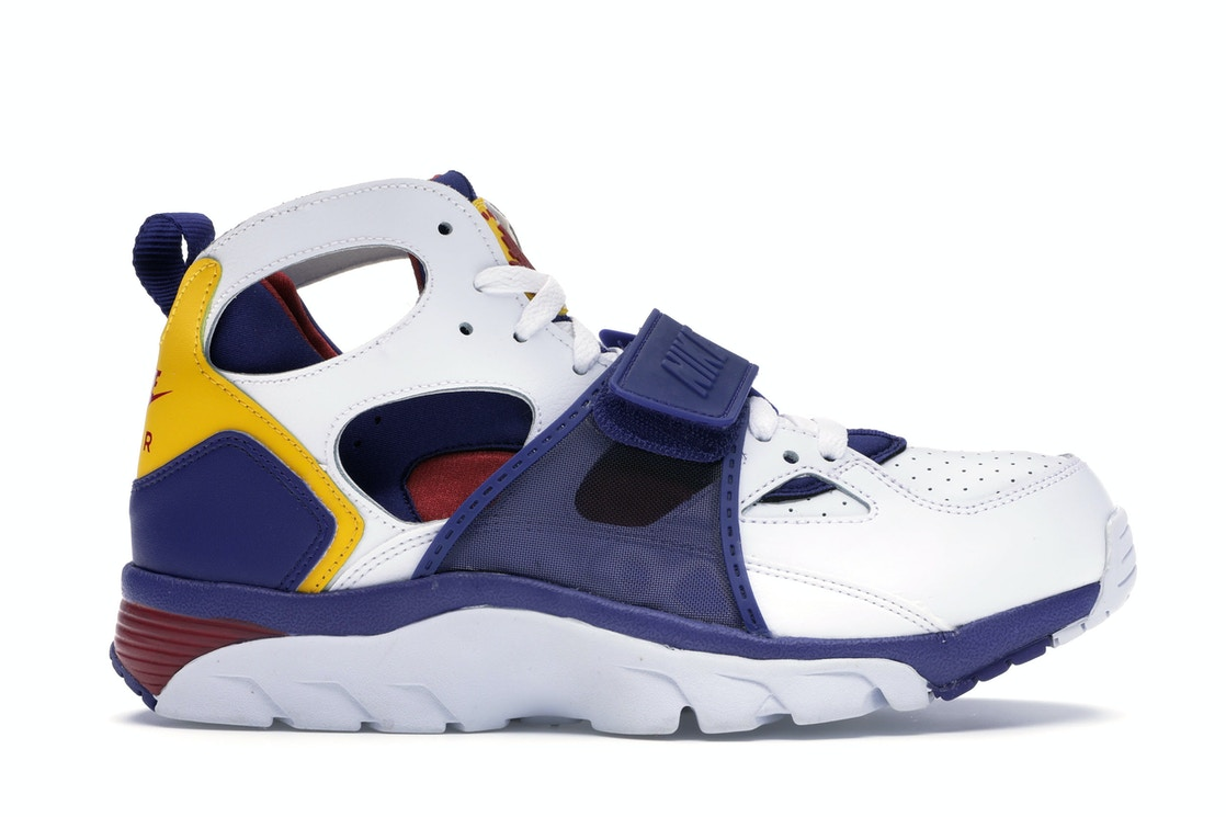 Air Trainer Huarache White Regency Purple Amarillo by Stock X