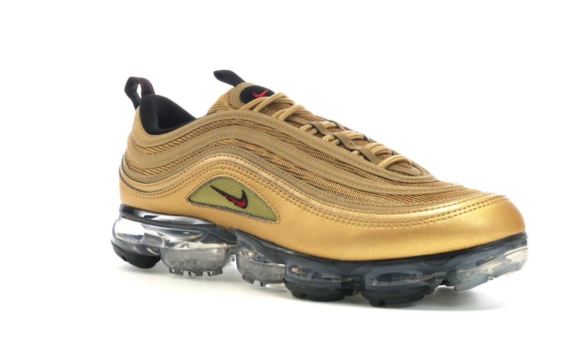 Air VaporMax 97 Metallic Gold