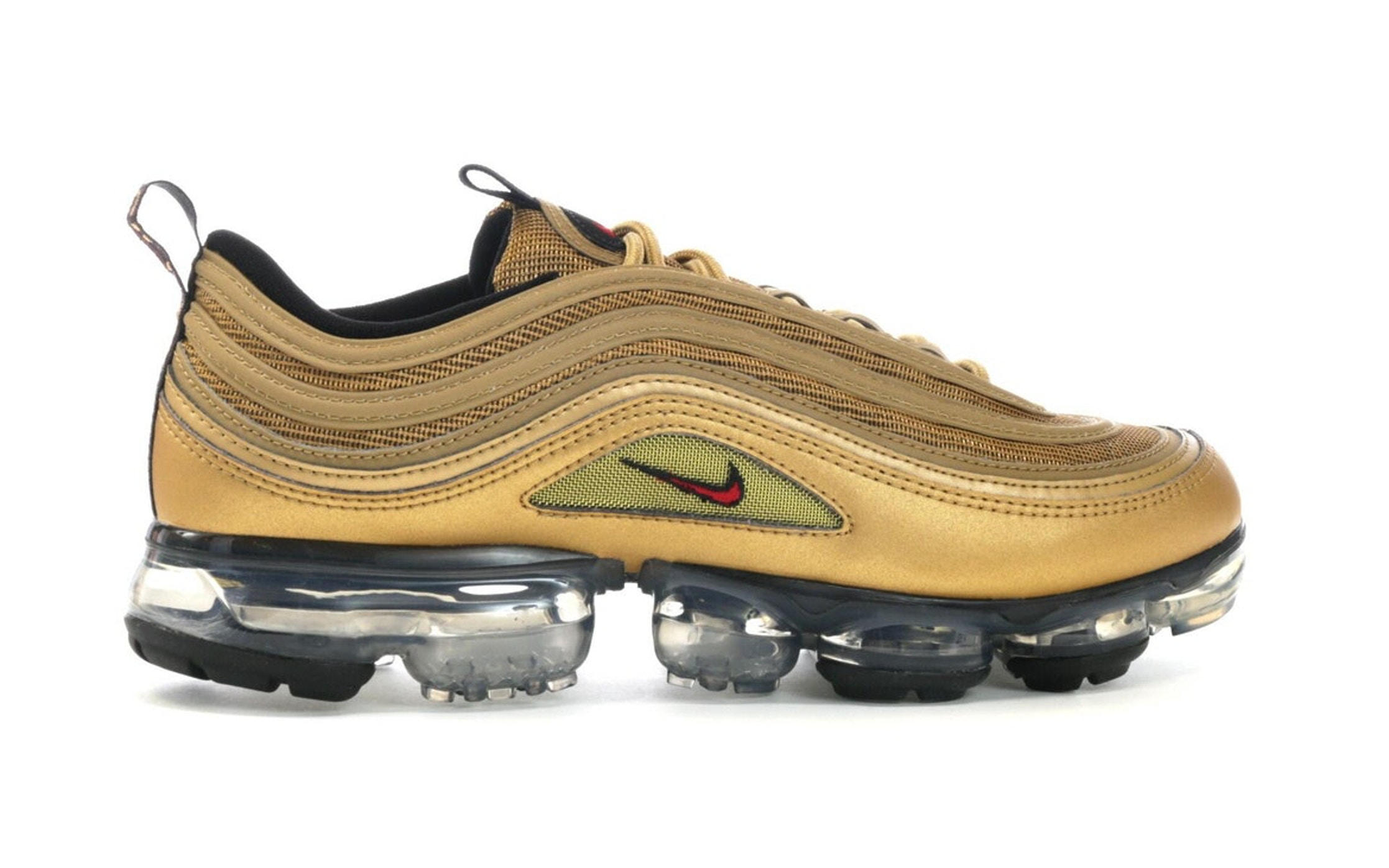... Nike Air VaporMax 97 Metallic Cashmere Womens  Air VaporMax 97 Metallic  Gold ... bf3ea8e07