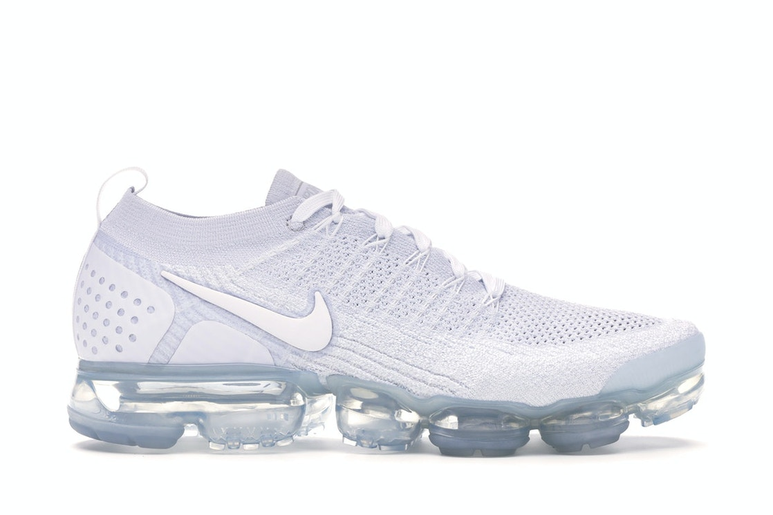 sports shoes 73fc1 dc9f2 Air VaporMax Flyknit 2 White Pure Platinum