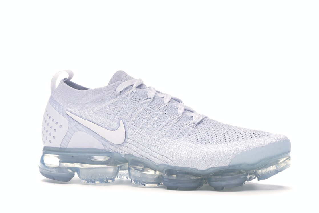 sports shoes 6b555 10654 Air VaporMax Flyknit 2 White Pure Platinum