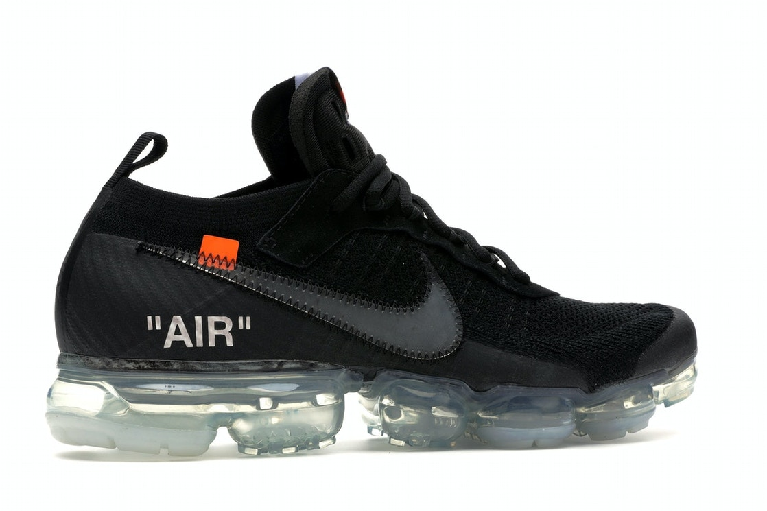 dedo índice privado Imaginativo  Nike Air VaporMax Off-White Black - AA3831-002