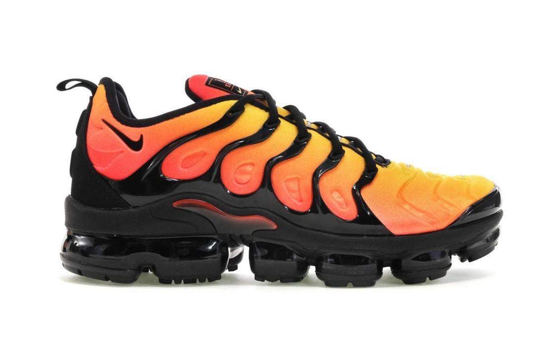 best sneakers 1cccf e31ac Style Code AO4550- 002; Air VaporMax Plus Black Orange Crimson . ...