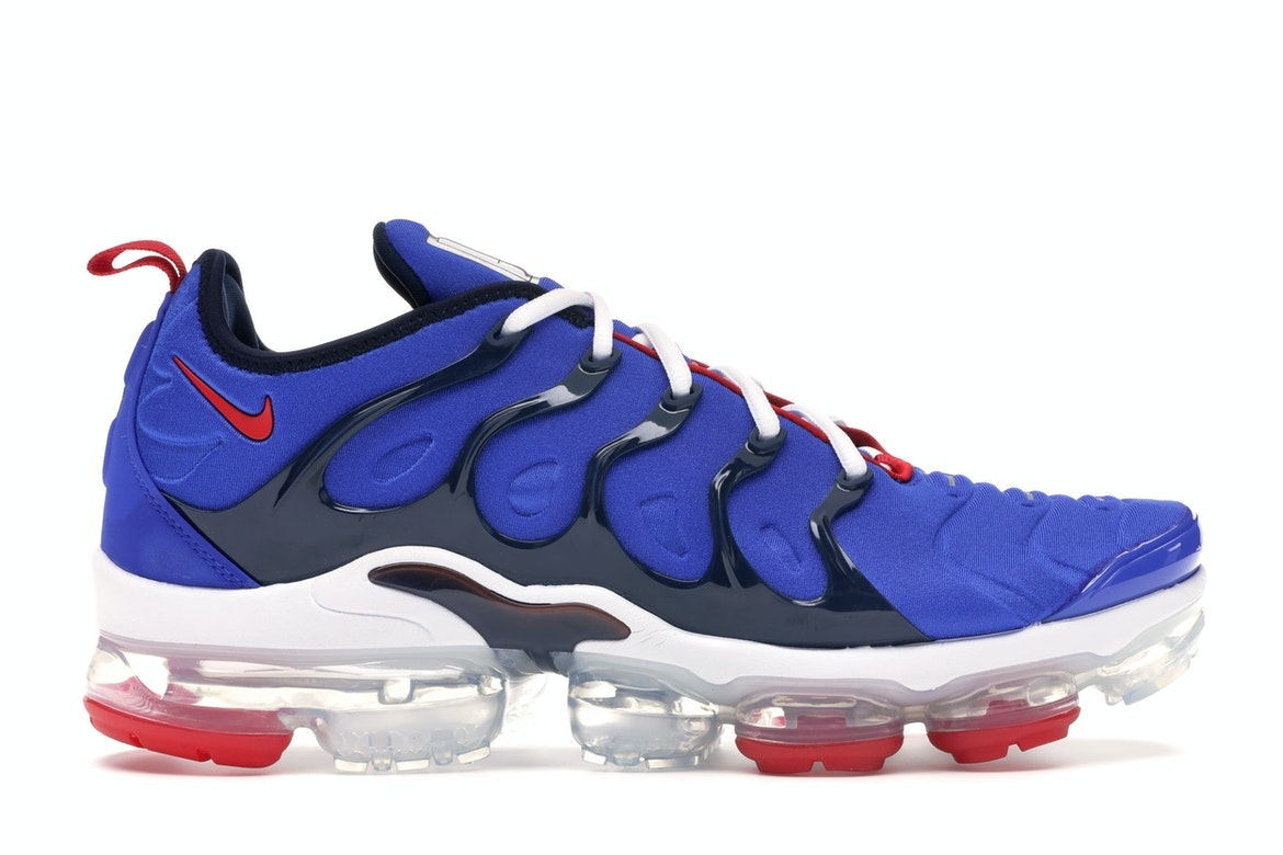 Air VaporMax Plus Racer Blue University Red